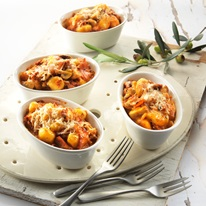 Baked Gnocchi With Creamy Sundried Tomato Sauce