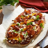 Balsamic Pizza With Pumpkin  Fetta