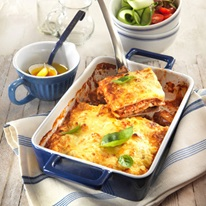 Chicken Lasagne With 3 Cheese Topping