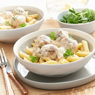 Chicken Meatball Scallopini