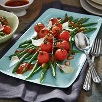 Green Bean And Blistered Tomato Salad