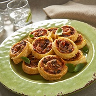 Mini Antipasto Scrolls