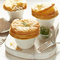 Salmon And Potato Pot Pies