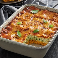 Two Toned Vegetable Lasagne